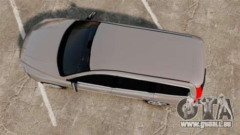 Volvo V70 Unmarked Police [ELS] pour GTA 4 est un droit
