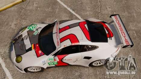 Porsche 911 (991) RSR für GTA 4 rechte Ansicht