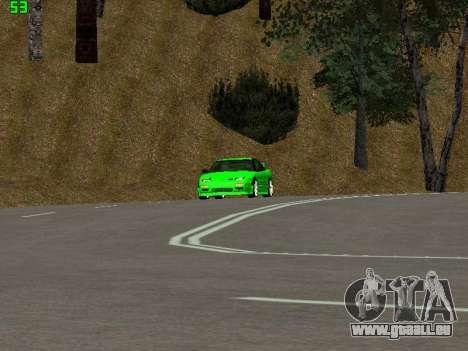 Nissan 240SX Drift Version für GTA San Andreas Rückansicht