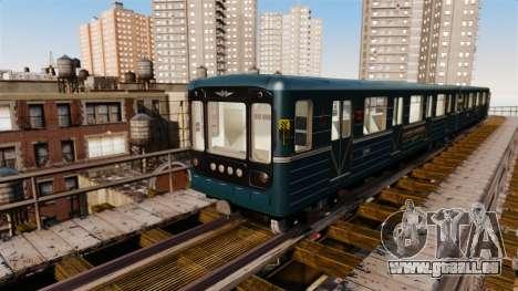 Le chef du métro de wagon modèle 81-717 pour GTA 4