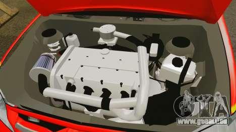 Toyota Hilux Finnish Military Police [ELS] pour GTA 4 est une vue de l'intérieur