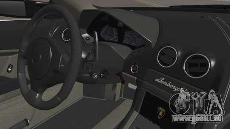 Lamborghini Reventon 2008 SLOD für GTA San Andreas Unteransicht
