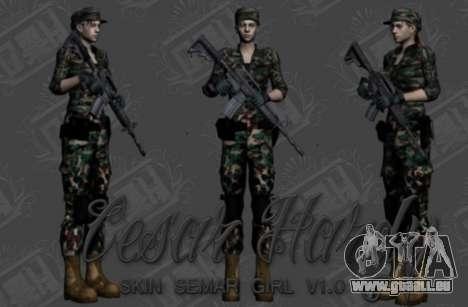 Pak peaux les filles pour GTA San Andreas sixième écran
