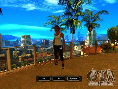 Pak skins Mädchen für GTA San Andreas zehnten Screenshot