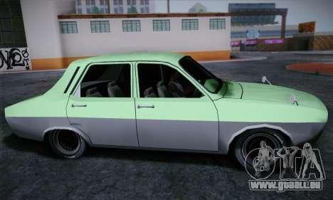 Dacia 1300 Retro Art pour GTA San Andreas sur la vue arrière gauche