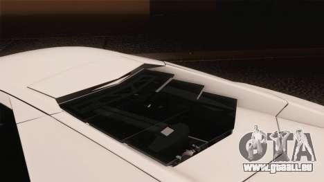 Lamborghini Reventon 2008 SLOD für GTA San Andreas obere Ansicht
