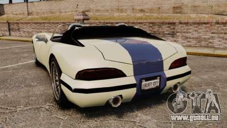 GTA SA Banshee pour GTA 4 Vue arrière de la gauche
