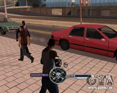 C-HUD by Niko pour GTA San Andreas deuxième écran