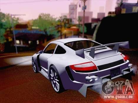 Porsche Carrera S pour GTA San Andreas vue arrière
