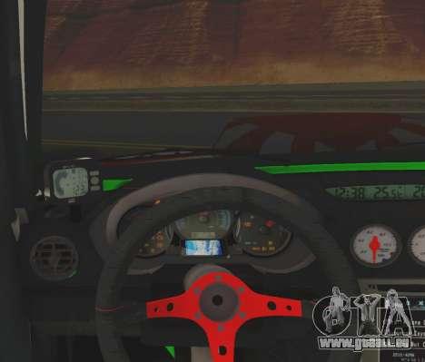 Subaru Forester JDM pour GTA San Andreas vue arrière