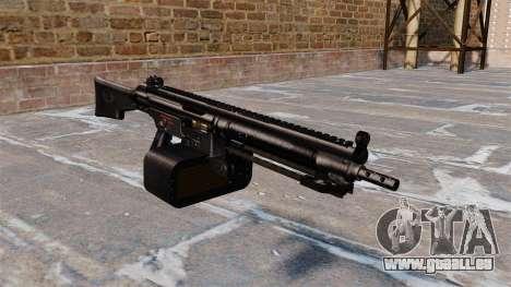 Mitrailleuse polyvalente Heckler et Koch HK21 pour GTA 4