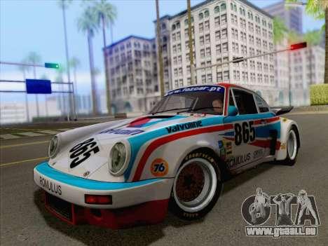 Porsche 911 RSR 3.3 skinpack 3 pour GTA San Andreas vue de droite