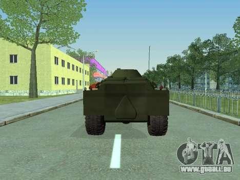 BRDM-2 für GTA San Andreas rechten Ansicht