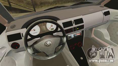 Volkswagen Saveiro G3 SuperSurf für GTA 4 Rückansicht