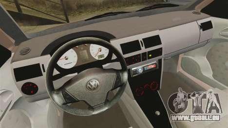 Volkswagen Saveiro G3 SuperSurf pour GTA 4 Vue arrière