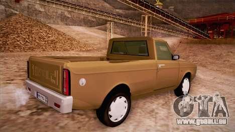 Ikco Paykan Pickup pour GTA San Andreas laissé vue