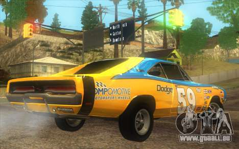 Dodge Charger RT 1969 für GTA San Andreas linke Ansicht