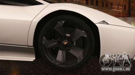 Lamborghini Reventon 2008 SLOD für GTA San Andreas Seitenansicht