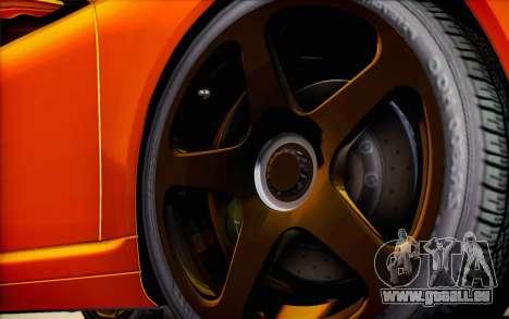 RUF RT12R pour GTA San Andreas roue