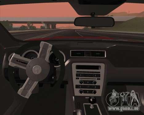Ford Mustang Rocket Bunny 2015 pour GTA San Andreas salon