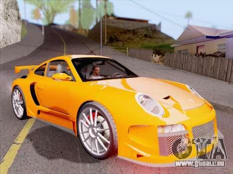Porsche Carrera S pour GTA San Andreas roue