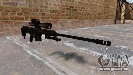 Fusil Barrett 98 b pour GTA 4