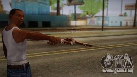 Colt Peacemaker (Rusty) pour GTA San Andreas deuxième écran