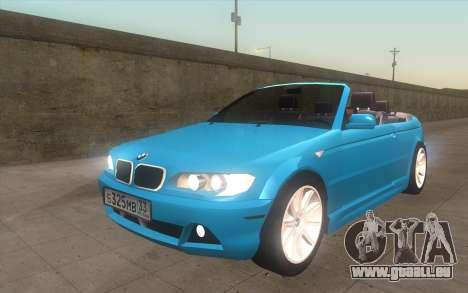 BMW 325Ci 2003 pour GTA San Andreas