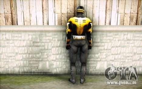 Cyrax pour GTA San Andreas deuxième écran