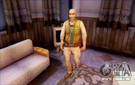 Eli de Half Life 2 pour GTA San Andreas deuxième écran