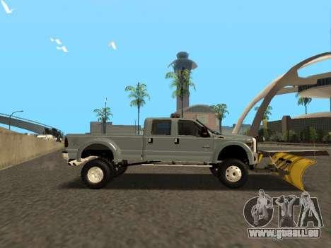 Ford F-450 für GTA San Andreas rechten Ansicht