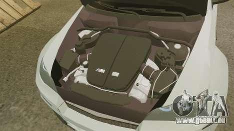 BMW X6 M HAMANN 2012 pour GTA 4 est une vue de l'intérieur