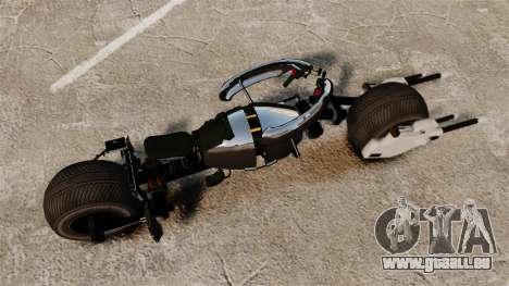 Bètmotocikl Bètpod pour GTA 4 Vue arrière de la gauche
