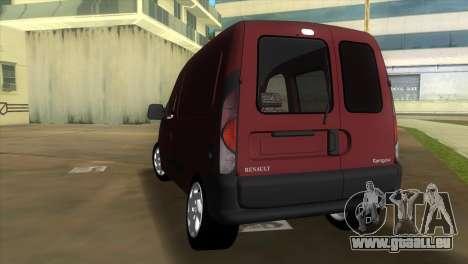 Renault Kangoo für GTA Vice City zurück linke Ansicht