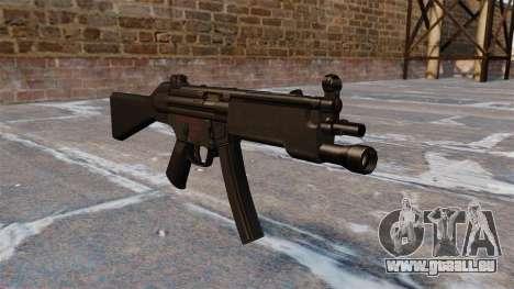 Pistolet mitrailleur HK MP5 pour GTA 4