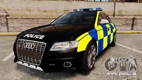 Audi S4 Police [ELS] pour GTA 4