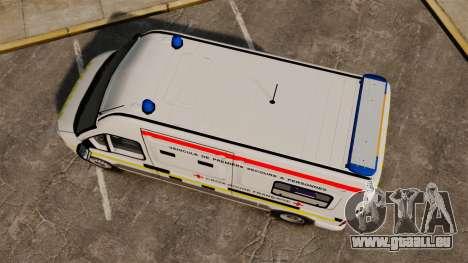 Renault Master French Red Cross [ELS] für GTA 4 rechte Ansicht