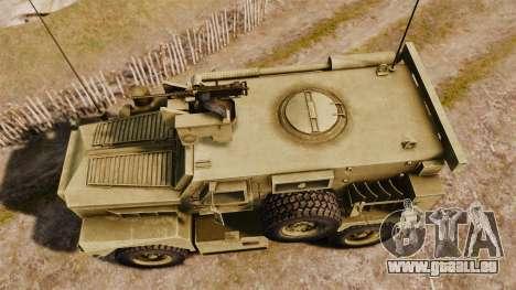 Cougar MRAP 4X4 pour GTA 4 est un droit