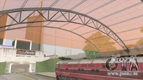 Gare de San Fierro pour GTA San Andreas troisième écran