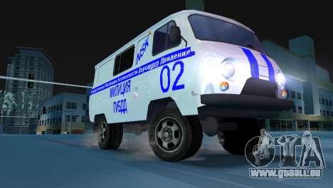 GIBDD UAZ-3741 pour GTA Vice City