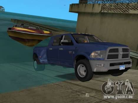 Dodge Ram 3500 Laramie 2012 für GTA Vice City Innen