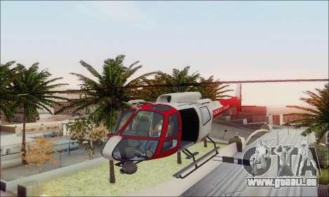 GTA V Ambulacia Maverick pour GTA San Andreas vue de dessus