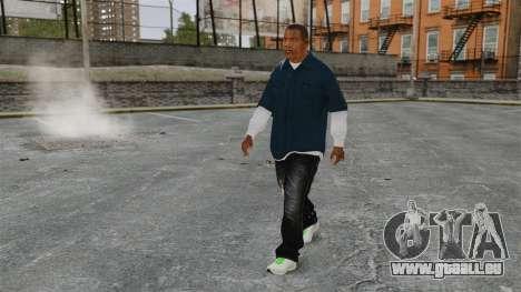 Clinton Franklin für GTA 4 Sekunden Bildschirm
