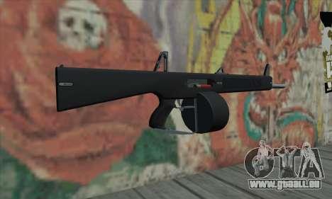 AA-12 pour GTA San Andreas deuxième écran