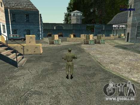 Combat aéroporté pour GTA San Andreas troisième écran
