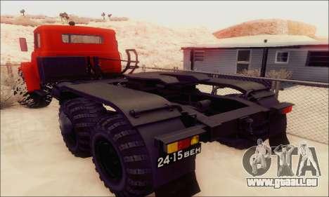 KrAZ 260v für GTA San Andreas Rückansicht