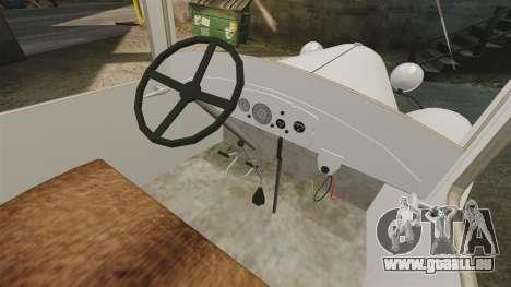 Ambulance de gaz-AA pour GTA 4 Vue arrière