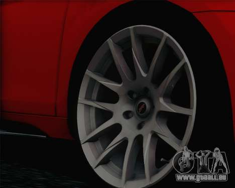 Volkswagen Golf Mk6 pour GTA San Andreas sur la vue arrière gauche