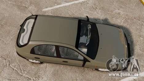 Daewoo Lanos S PL 2001 pour GTA 4 est un droit