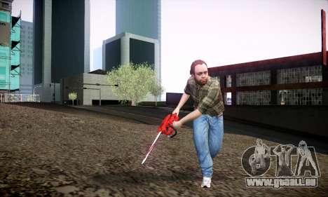 Lester de GTA V pour GTA San Andreas quatrième écran